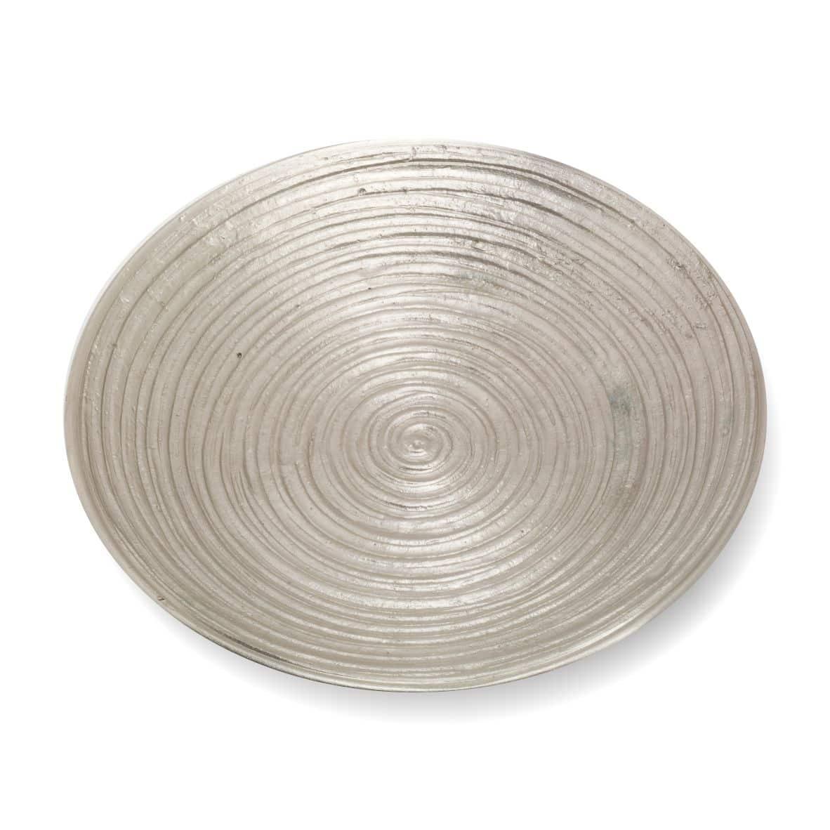 Rillenteller 150 mm, silber