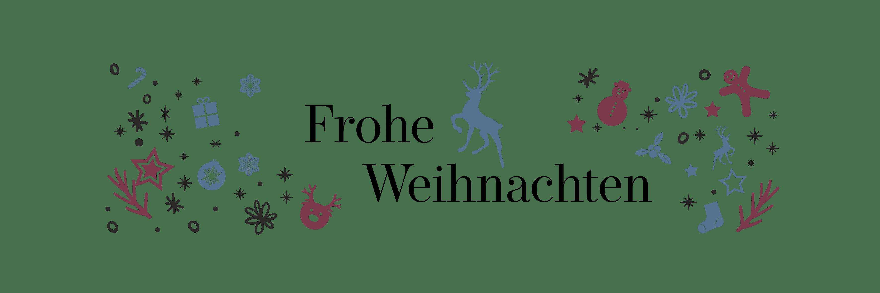 Header Frohe Weihnachten