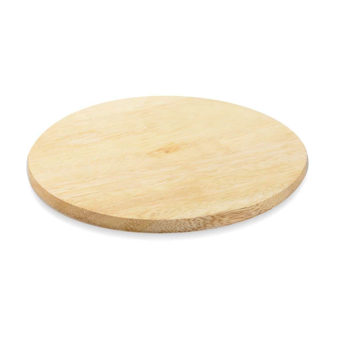 Kerzenteller Holz 140 mm, hell