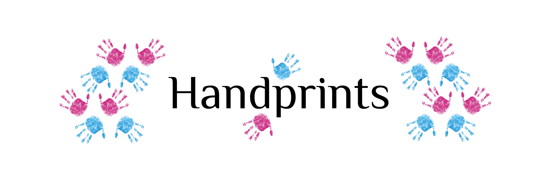 Header Handprints