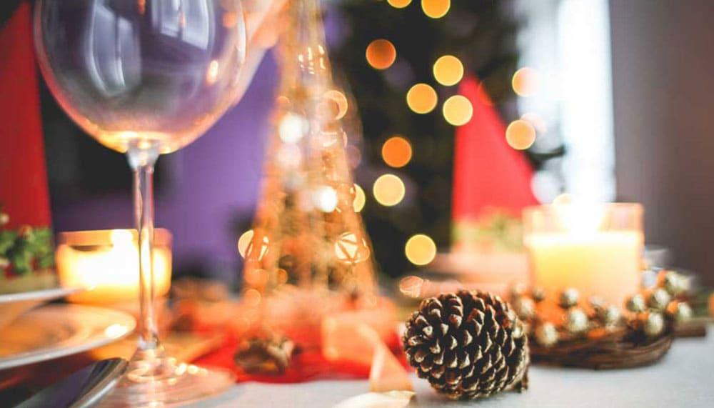 Weihnachtsdekoration Geschenk