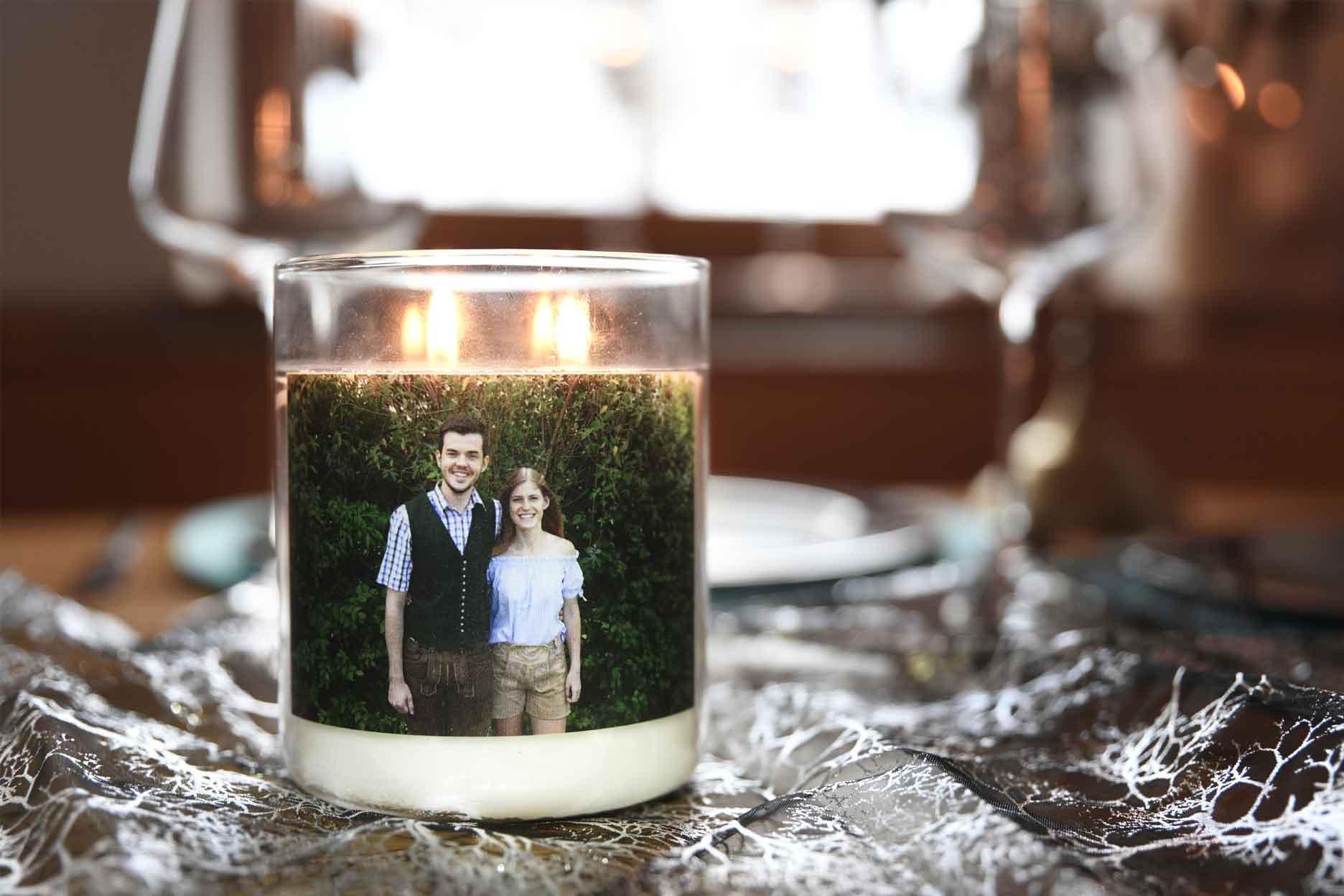 Personalisierte Kerze im Glas World Candle Day