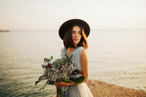 Braut modern und fancy