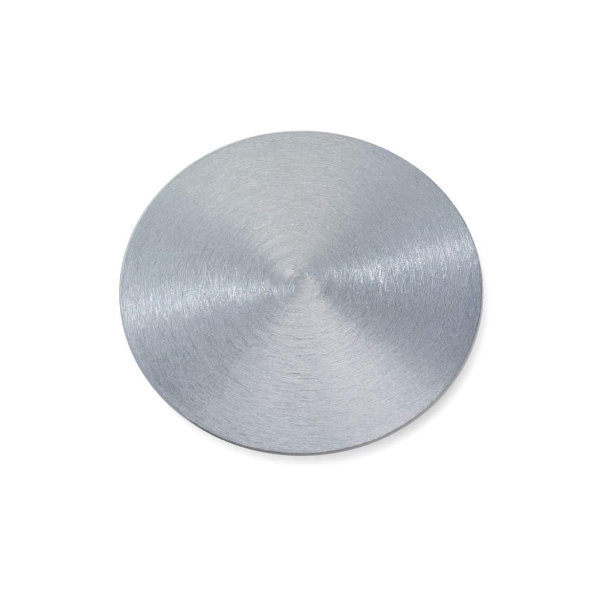 Kerzenteller Alu 100 mm, silber
