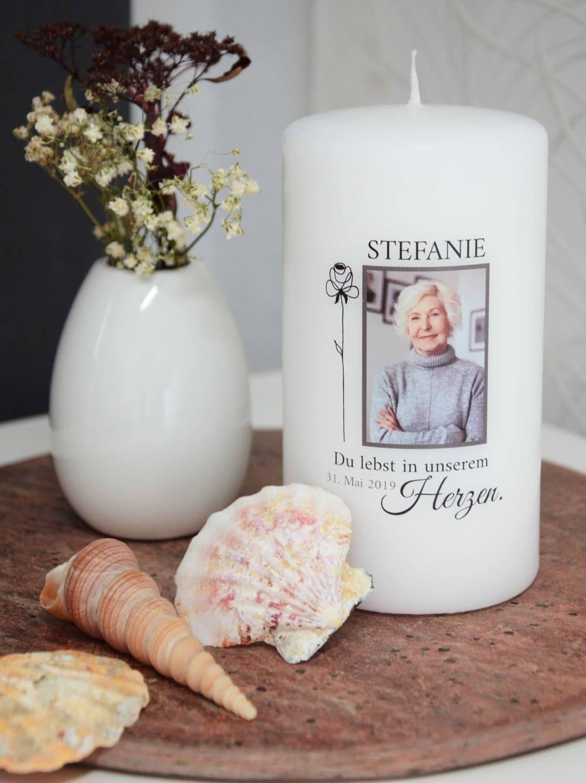 Stefanie Gedenkkerze