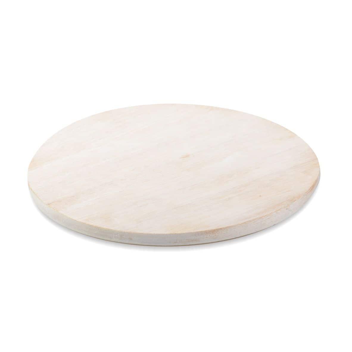 Kerzenteller Holz 140 mm, natur