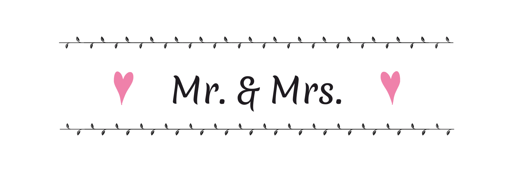 Kollektion Mr. & Mrs.